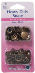 H405R.A Heavy Duty Snaps Refill Pack: Antique Brass - 15mm